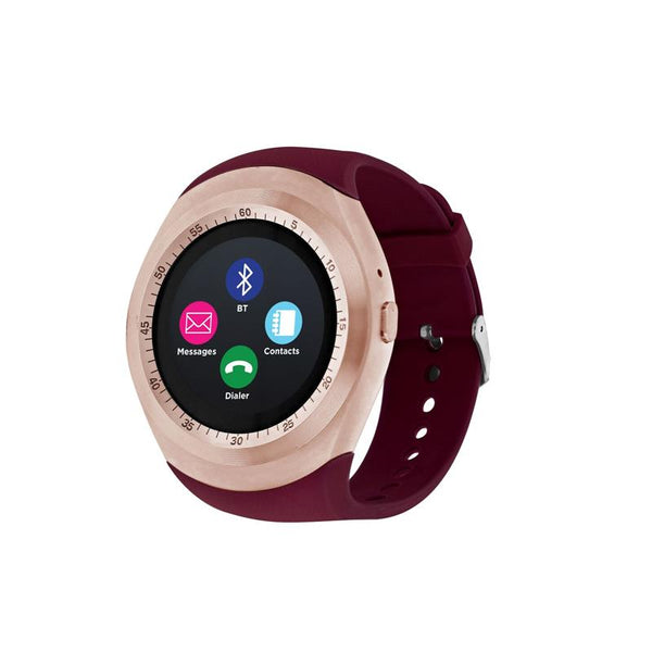 iTouch Wearables Curve Smart Watch - (Burgundy)