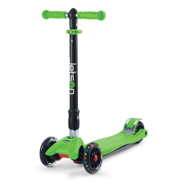 Twin kids Kick Scooter Green