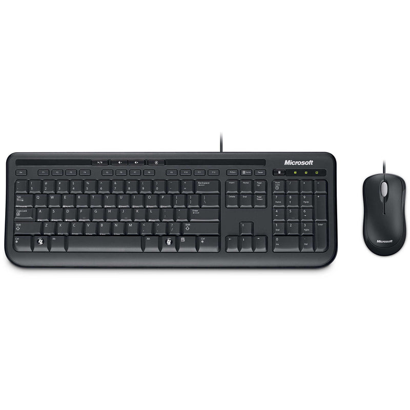 Wired Keyboard / Mouse 600 USB Port (Black)