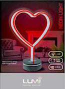 Vivitar Heart Neon Light