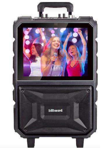 Billboard Touch Screen Karaoke