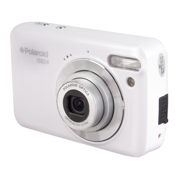 "Polaroid 16.1MP, Full 1080p HD DigiCam, 8xOptical, 2.4"" Screen-END OF LIFE"