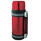 1.0L Vacuum S/S Bottle W/ Handle Red