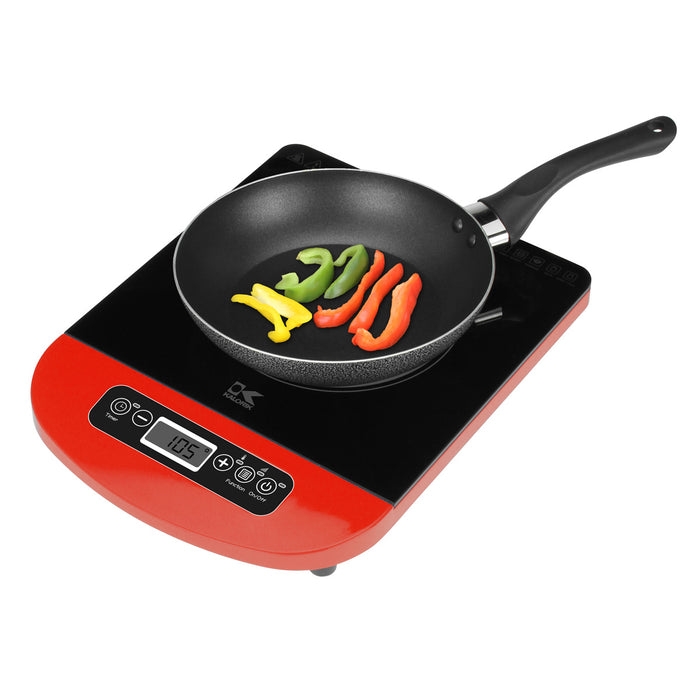 Kalorik Red Induction Cooking Plate.