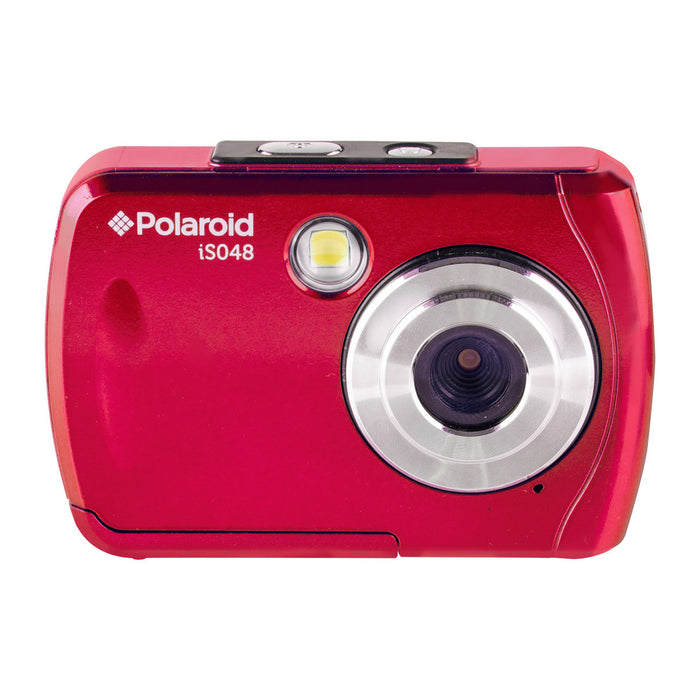 "16.1 MP Waterproof DigiCam w/2.4""LCD, Flash, 4x Zoom, 10 Ft. Depth."