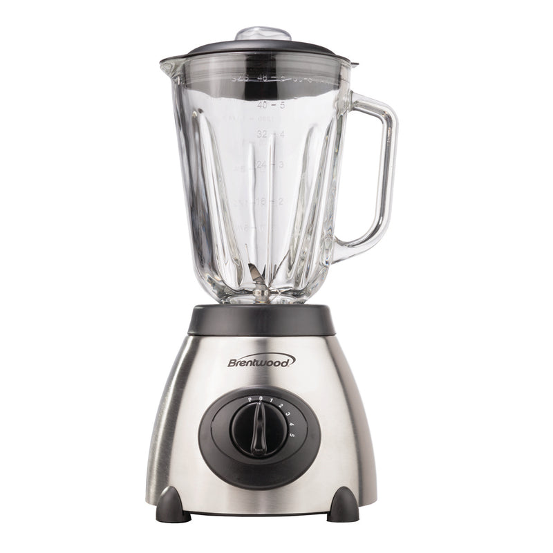 5-SPEED BLENDER W/ SS BASE AND GLASS JAR 500W
