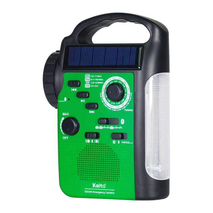 Weather Radio/Light/Bluetooth/MP3/Phone Charging Power Station