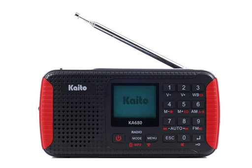 AM/FM Shortwave & NOAA Weather Radio with High Sensitivity Digital Tuner & Flashlight