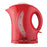 1.7 LITER CORDLESS PLASTIC TEA KETTLE- RED