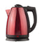 2.0 L SS ELECTRIC CORDLESS TEA KETTLE 1000W- RED