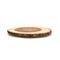 Acacia Large Slab Lazy Susan with Bark Rim
