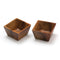 Acacia 2 Square Pinch Bowls