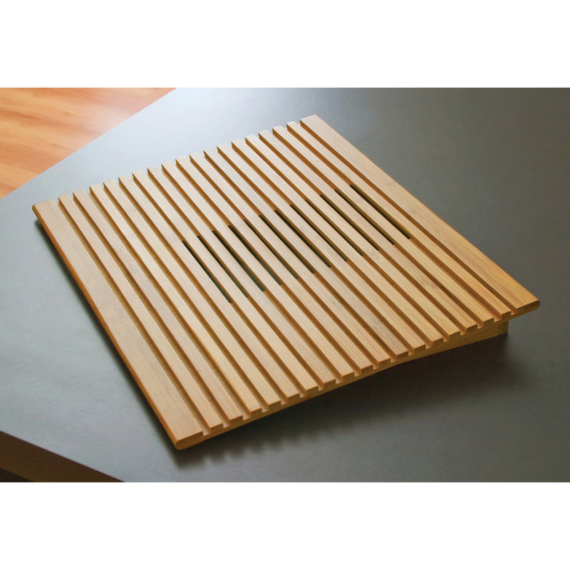 Bamboo Laptop Computer Tray/Holder Slatted