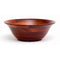 Cherry Finish Flared/Footed Bowl  14""