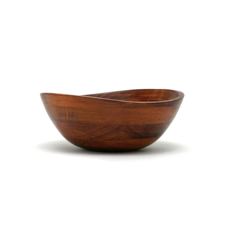 Cherry Matte Bowl With a Wavy Rim 7 1/2""