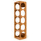 Bamboo 5 Bottle Stackable Wall Mountable Wine Rack