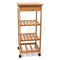 Bamboo Space Saving Cart/Trolley