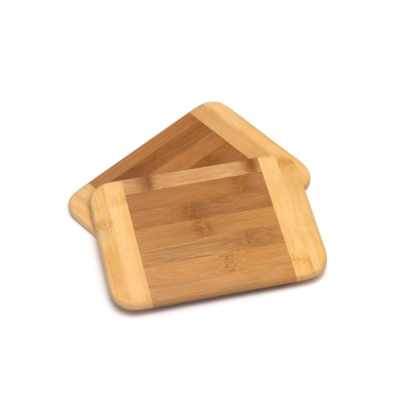 Bamboo 2 Tone Small Cutting Boards Set of 2