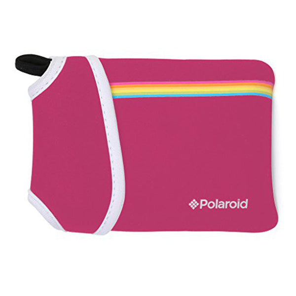 Polaroid Snap Neoprene Pouch- Pink