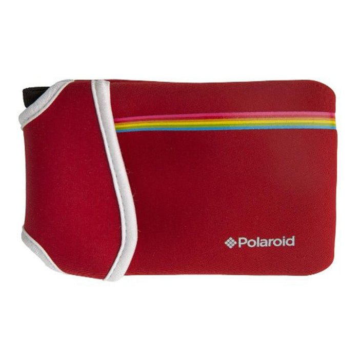 Polaroid Snap Neoprene Pouch- Red