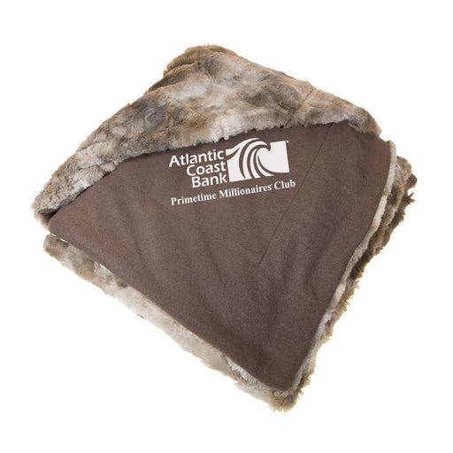Faux Fur Blanket - Coyote