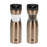Kalorik Gold Gravity Salt and Pepper Grinder Set.