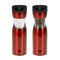 Kalorik Red Gravity Salt and Pepper Grinder Set