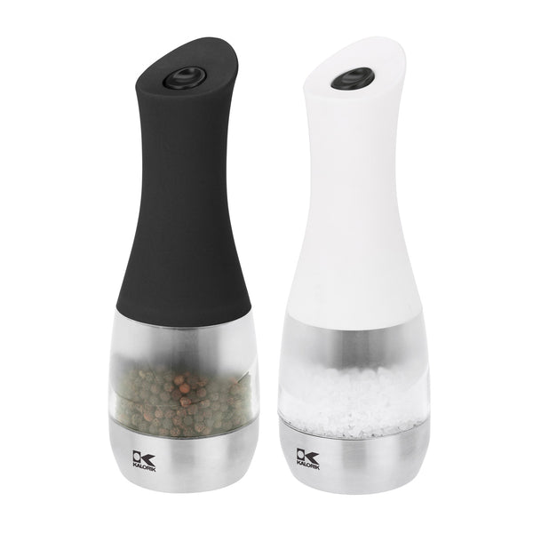Kalorik Set of 2 Electric Salt And Pepper Grinders