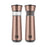 Kalorik Easygrind Electric Gravity Salt and Pepper Grinder Set Copper.
