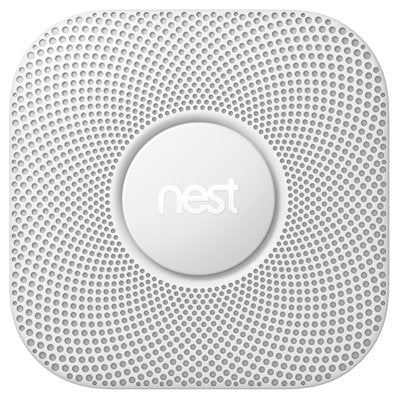 Nest 2nd Gen Protect Smoke + CO Alarm - White, Wired