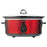 6.5 QT SLOW COOKER-RED