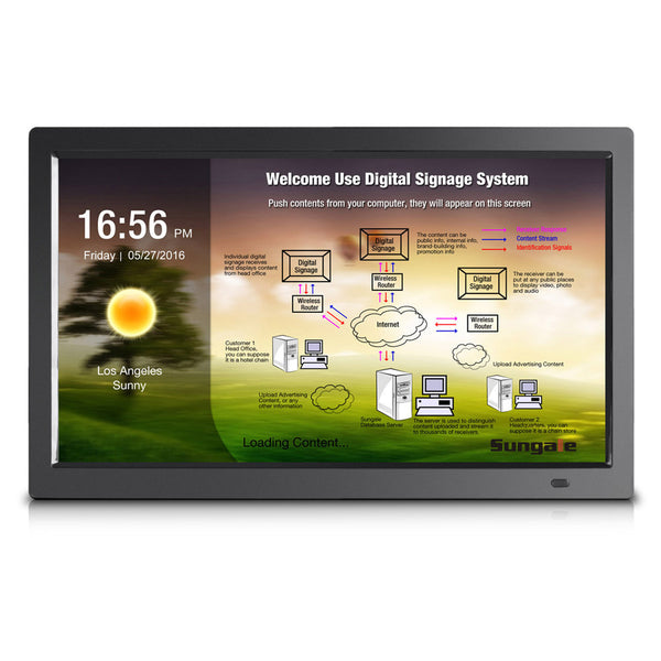 "Sungale 19"" Digital Signage Screens"