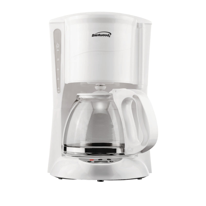 12-CUP DIGITAL COFFEE MAKER - WHT