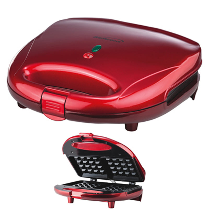 WAFFLE MAKER- RED
