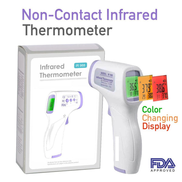 Non-Contact Digital IR Infrared Forehead Thermometer