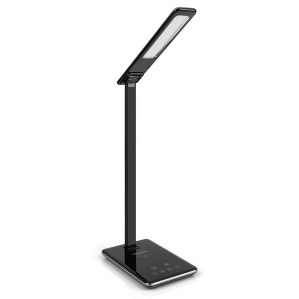 LED Foldable Desk Lamp with built-in Wireless Charging Pad