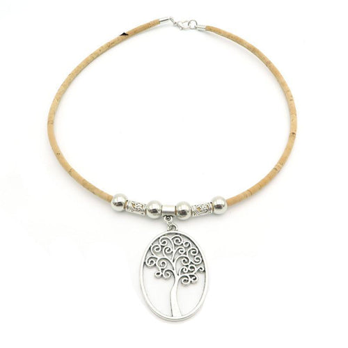 TREE OF LIFE Kork Halskette - Koko cork products