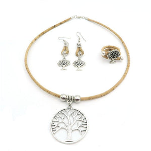 KELTIC TREE Kork Schmuck Set - Koko cork products