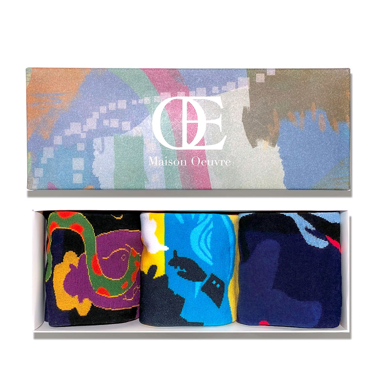 Literature x Fantasy Gift Box 3-Pack (with 3 originally designed postcards)