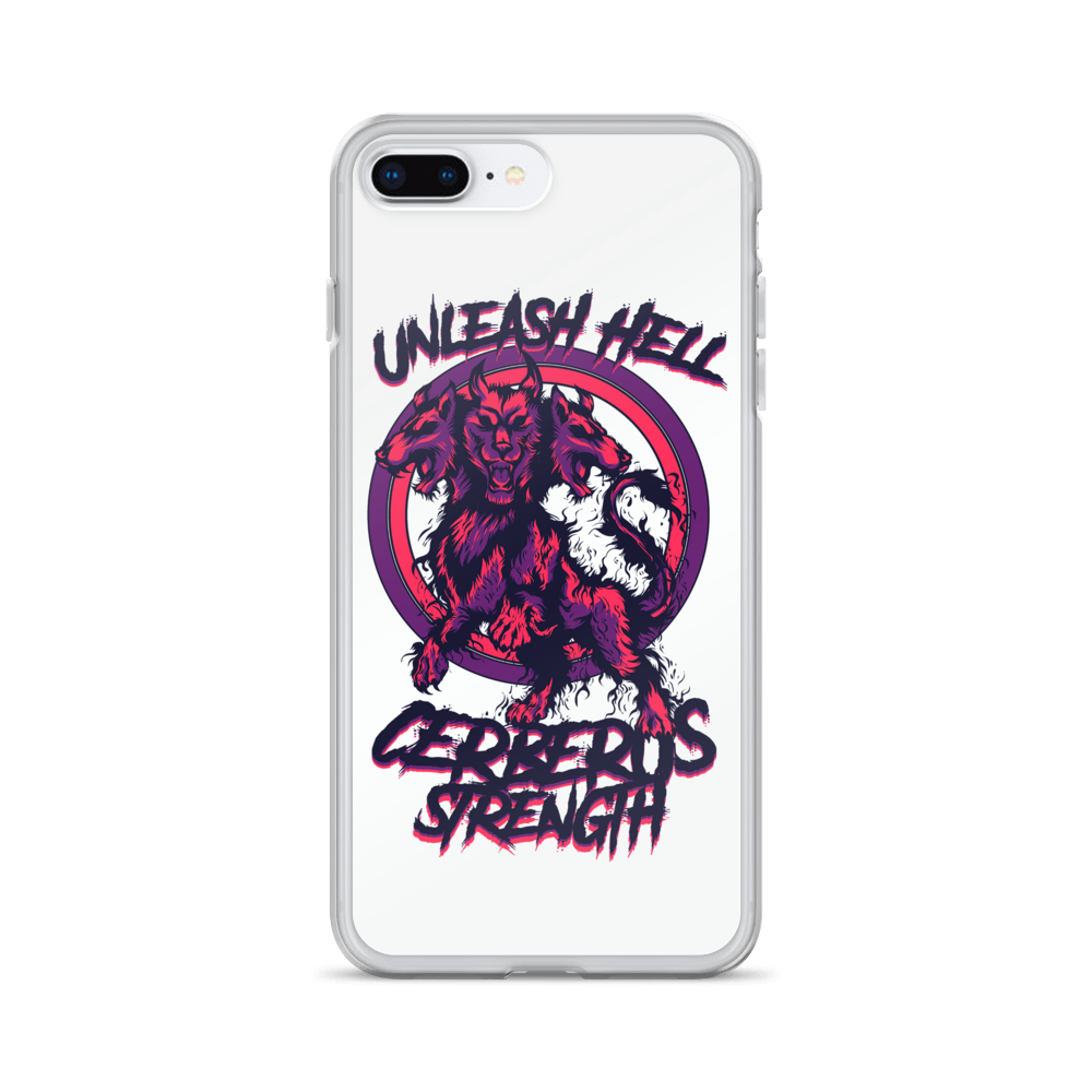 Unleash Hell White iPhone Case