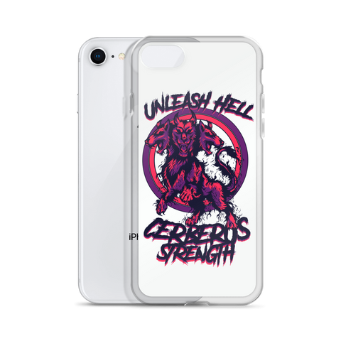 Image of Unleash Hell White iPhone Case