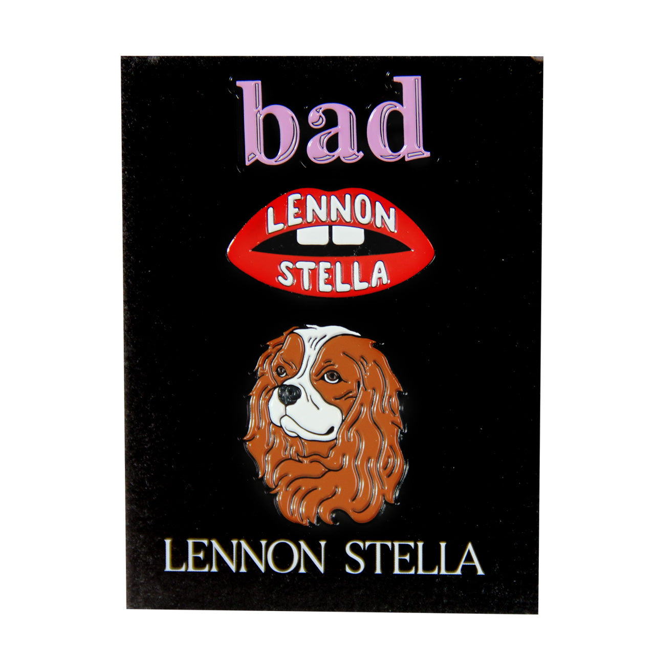 Lennon Stella Pins - Set of 3