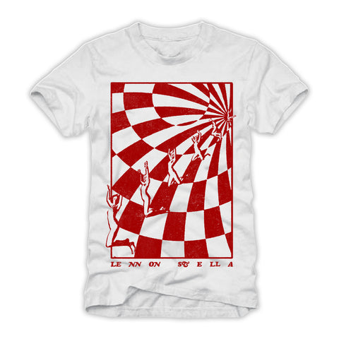 "*PRE ORDER* Checkerboard Tee + ""Three. Two. One."" Vinyl Album Preorder + Digital Download"