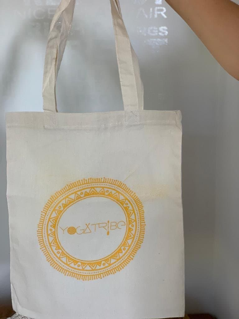 100% Cotton YogaTribe®️ Branded Tote Bag - Yoga Tribe NZ