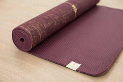 Peaceful Warrior Organic Jute 100% Eco YogaTribe® Mat - Yoga Tribe NZ