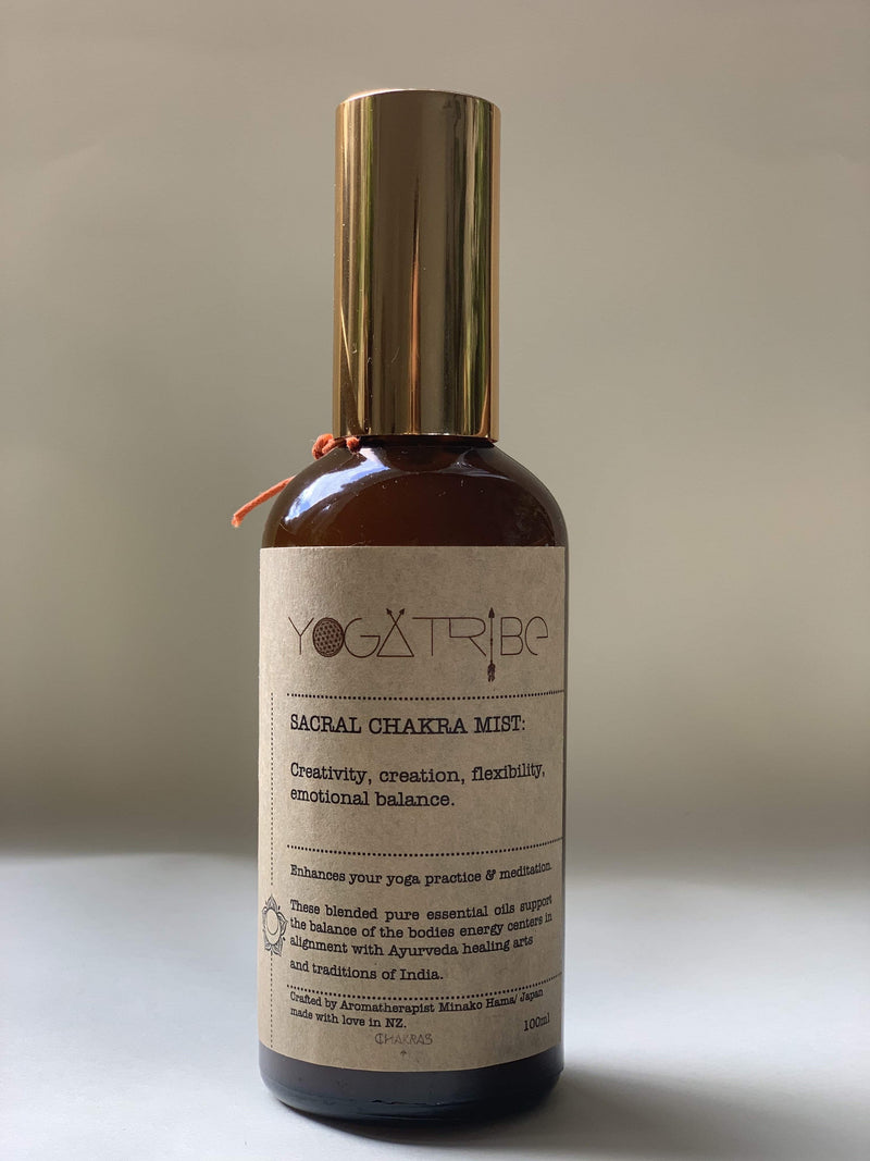 Sacral Chakra Mist  / YogaTribe® 100ml - Yoga Tribe NZ