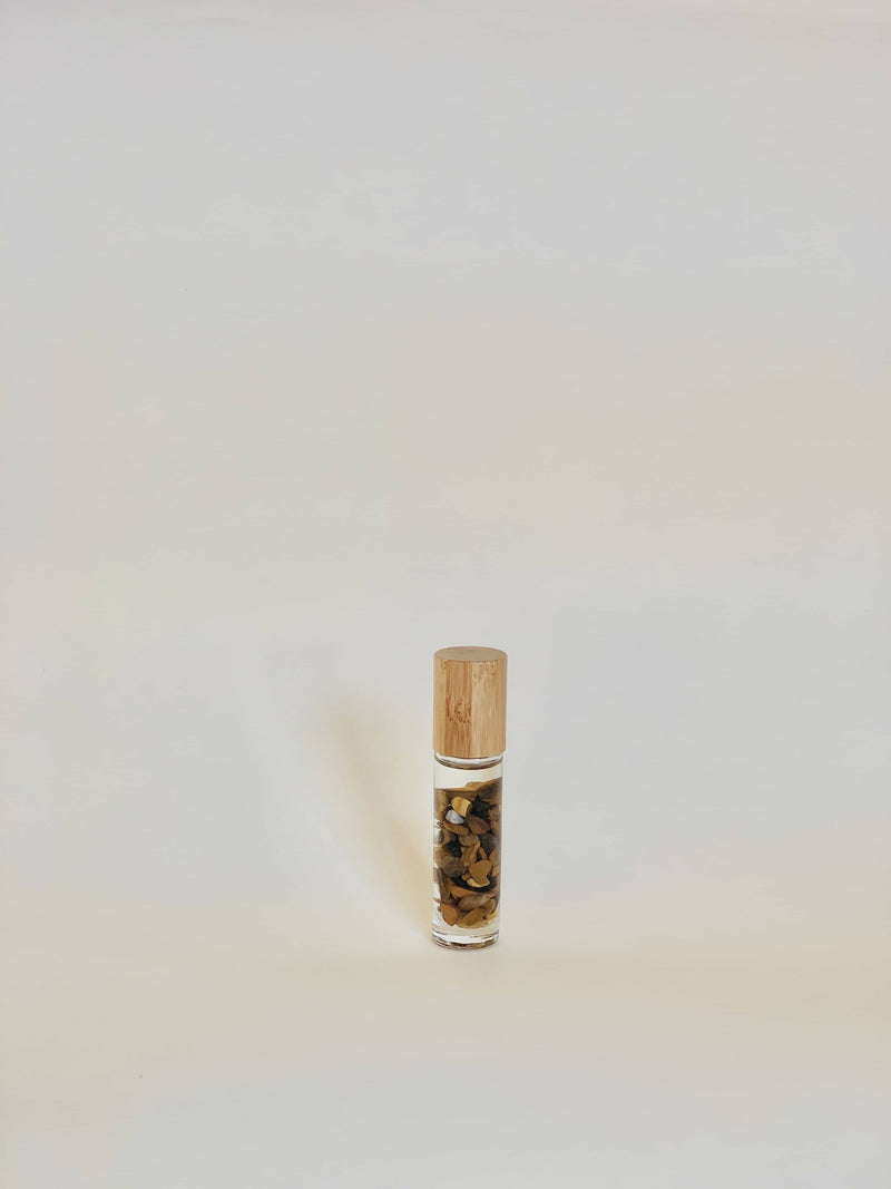TIGER EYE/  ORGANIC ESSENTIAL OIL POCKET PERFUME 10ml - Yoga Tribe NZ