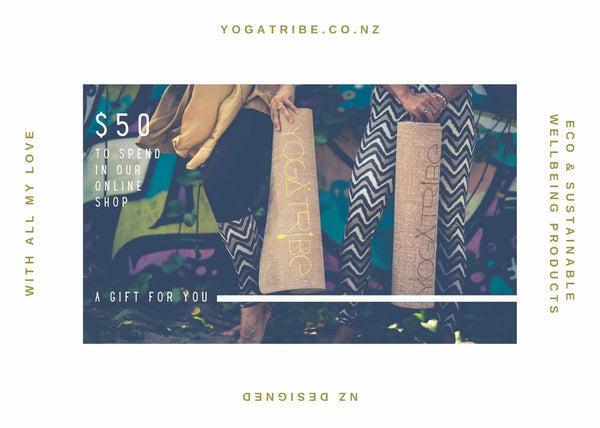 YogaTribe® Special Edition Christmas Gift Cards - Yoga Tribe NZ
