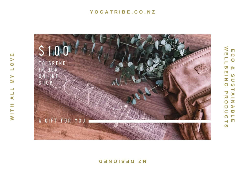 YogaTribe® Special Edition Gift Cards - Yoga Tribe NZ
