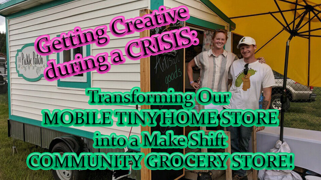 Getting Creative During a Crisis: Transforming our Mobile Store into a Community Grocery Store!